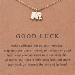 Make a wish. Elephants are a symbol of good luck.