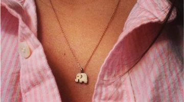 Elephant Good Luck Necklace 1