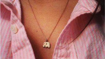 Elephant Good Luck Necklace 1