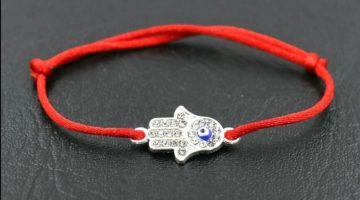 Hamsa Evil Eye Protection for Luck