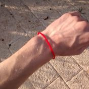 Wearing a red string bracelet has many positive effects on one's mind and body. Protection, good fortune, prosperity, and success.
