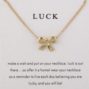 The gift of luck.