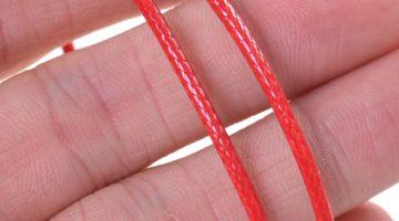 Red Cord Bracelet 2