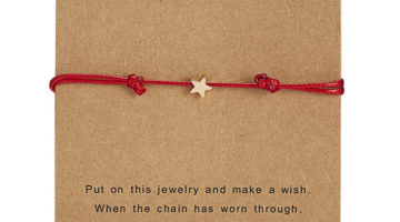 Red String Star Bracelet 2