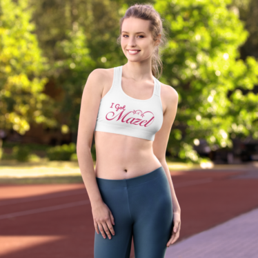 Sports Bra - Bubbe Mazel Has Your Back
