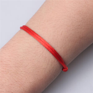 Red String Bracelet For Luck, Protection and The Red Thread of Hope.