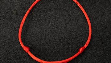 red string bracelet adjustable 6