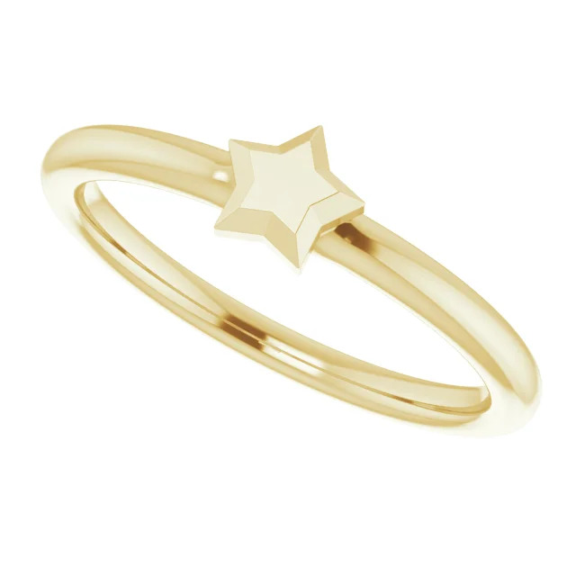 14K-Yellow-Stackable-Star-Ring-6
