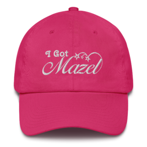 'I Got Mazel' Lucky Hat