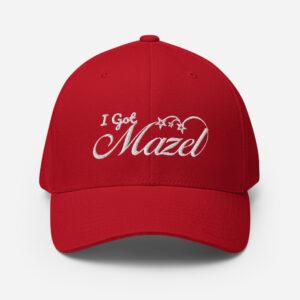 I Got Mazel Structured Twill Cap