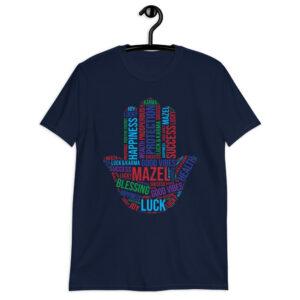 Hamsa Mazel Lucky Short-Sleeve Unisex T-Shirt