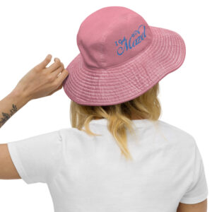 'I Got Mazel' - Wide Brim Bucket Hat