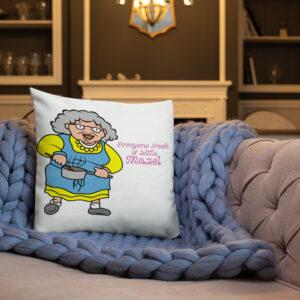 Everyone Needs A Little Mazel Decorative Pillow