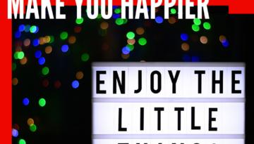 Gratitude will you happier